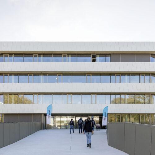 Robin Hurts architect Campus Howest hogeschool in samenwerking met RAU