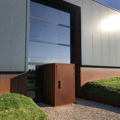 Bedrijfshal Jacco bakker robin hurts architect-entree