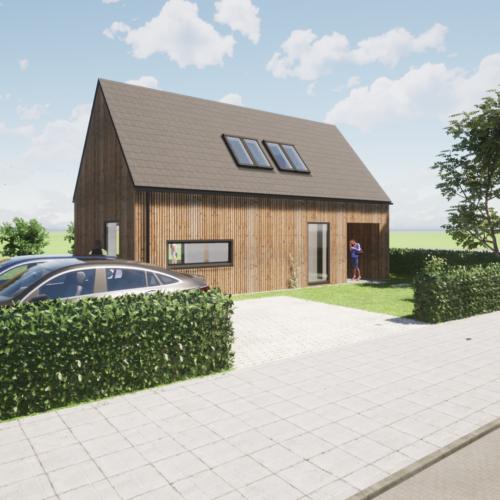 robin hurts architect GABLOK woonhuis Wieringen